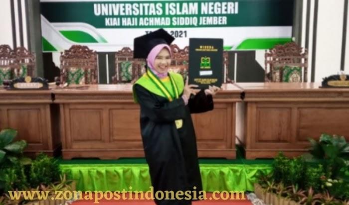 Wildan Muhlisoh Syafaah, Mahasiswi Jurusan Fakultas Dakwah UIN KHAS Jember, Suskes Mengawali Karirnya Sejak Masih Muda