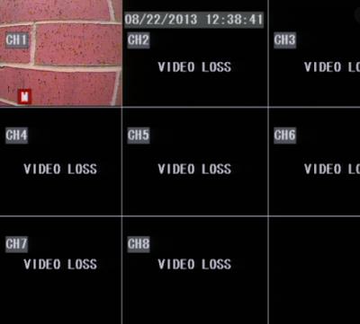 Penyebab CCTV NO Video Loss