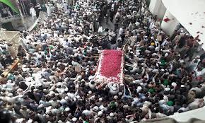 أكبر جنازة في التاريخ لغازي ممتاز مات دفاعا عم الرسول