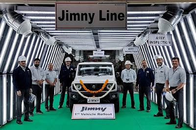 Maruti Suzuki started exporting Gimini sport utility vehicles from India