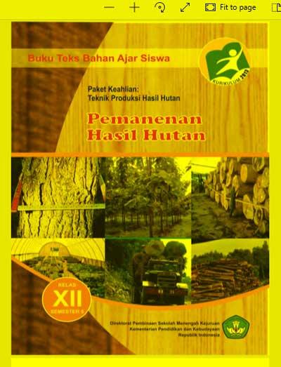Buku Siswa Pemanenan Hasil Hutan SMK Kelas 12 (XII) Semester 5 Kurikulum 13