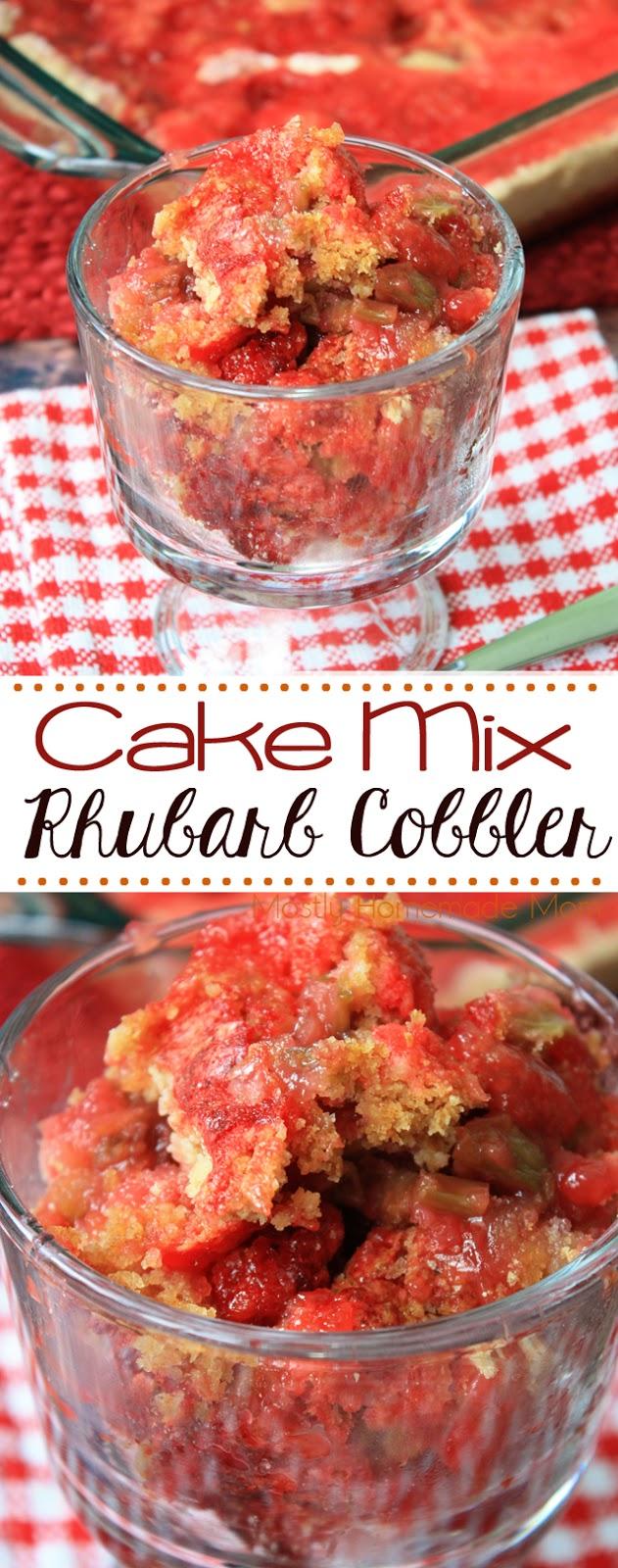 rhubarb cobbler recipe