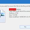 Peringatan Konfirmasi Penghapusan/Delete File tidak Muncul? Ini Tutorialnya