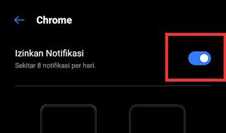 Cara hentikan notifikasi chrome