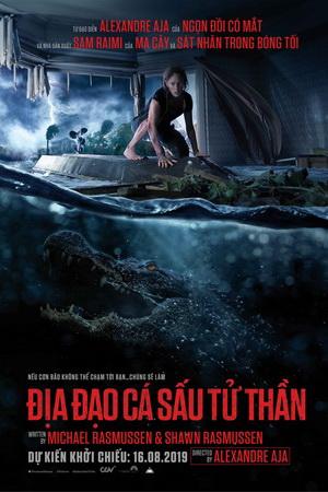Xem Phim Địa Đạo Cá Sấu Tử Thần - Crawl