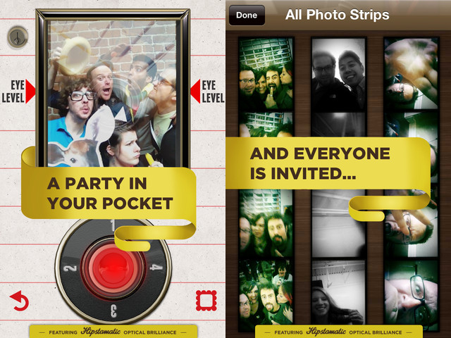 Mobile apps for photographers IncrediBooth