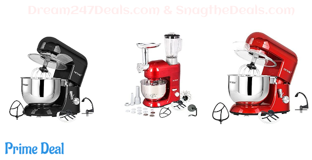 20% OFF  Stand Tilt-head Kitchen Electric Dough Mixer
