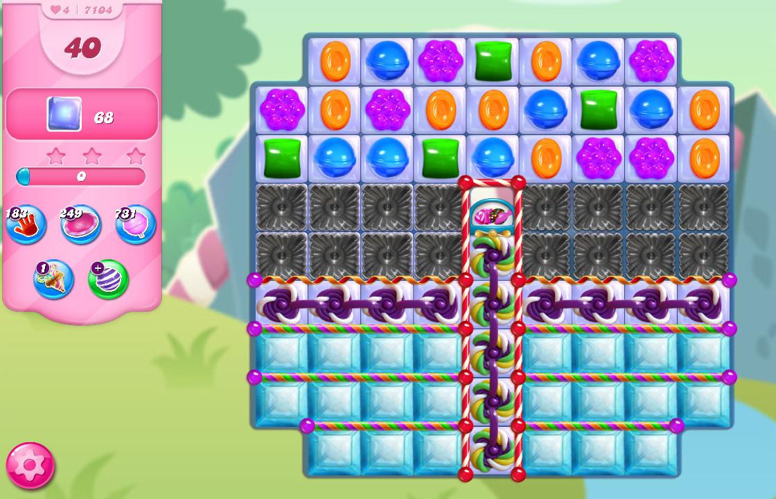 Candy Crush Saga level 7104