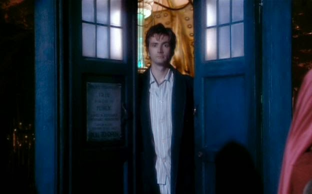 Doctor Who The Christmas Invasion.Doctor Who Revisiting The Christmas Invasion Warped