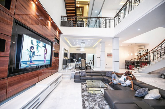 Paul Okoye shows off the interior of his house and it's stunning