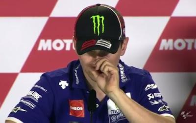 Lorenzo Sebut Ban Lembut Michelin Sangat Berbahaya