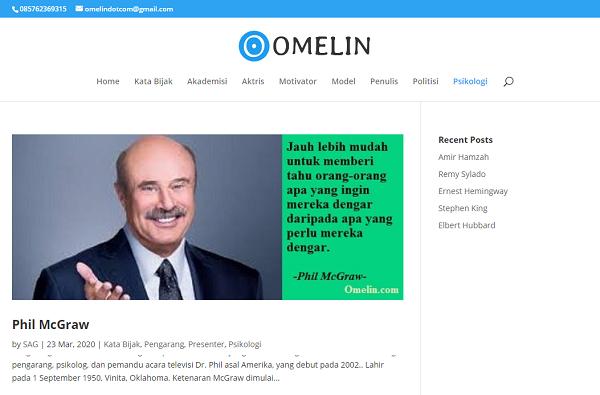 Situs Omelin.com