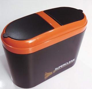 Super Clean Car Mini Trash Rubbish Can Garbage Dust Dustbin Box Case Review