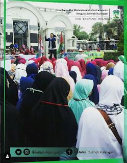 Aksi Solidaritas Untuk Palestina dari Kota Kuningan Jabar-