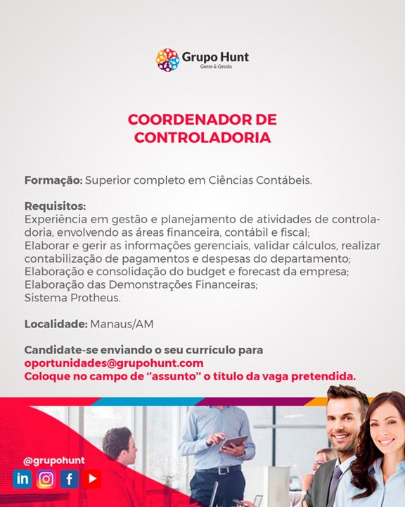 COORDENADOR DE CONTROLADORIA