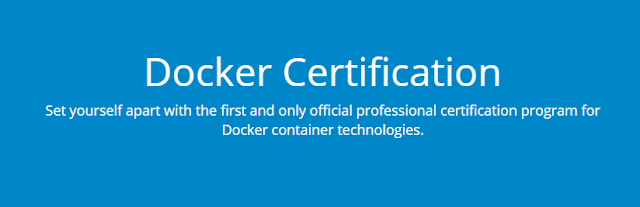 Docker Certifications scenelinklist
