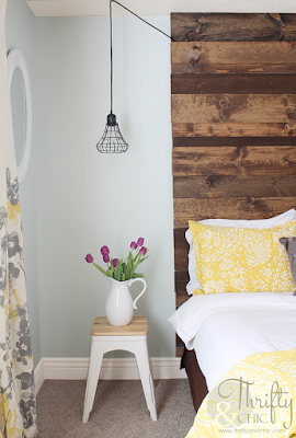 http://www.thriftyandchic.com/2014/06/diy-floor-to-ceiling-wood-headboard.html