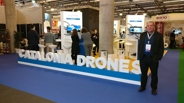 Presencia de Catalonia Smart Drones en el Mobile World Congress 2017