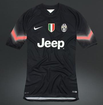 607b4c27723 Juventus Goalkeeper Jersey 2014 2015