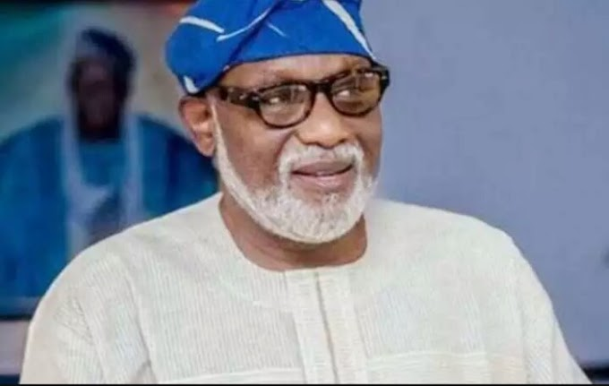 Governor Akeredolu Urges Supporters: Don't Fight Over My Second Term
