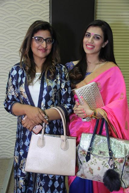Designer Asma Gulzar with Pooja Chopra