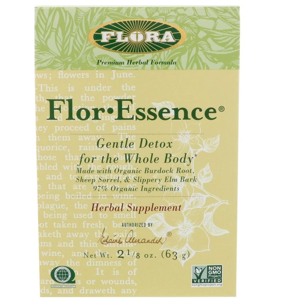 Flora, Flor·Essence, Мягкое очищение организма, 2 1/8 унции (63г)