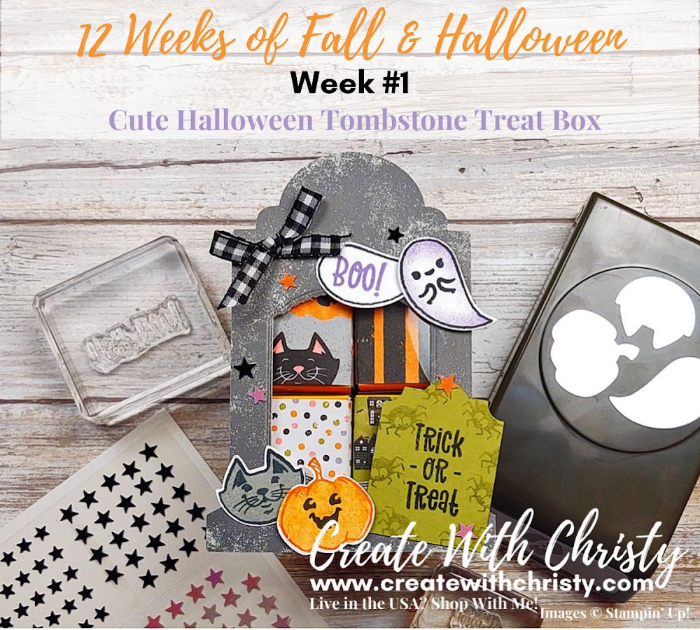 12 Weeks of Fall & Halloween - Week #1