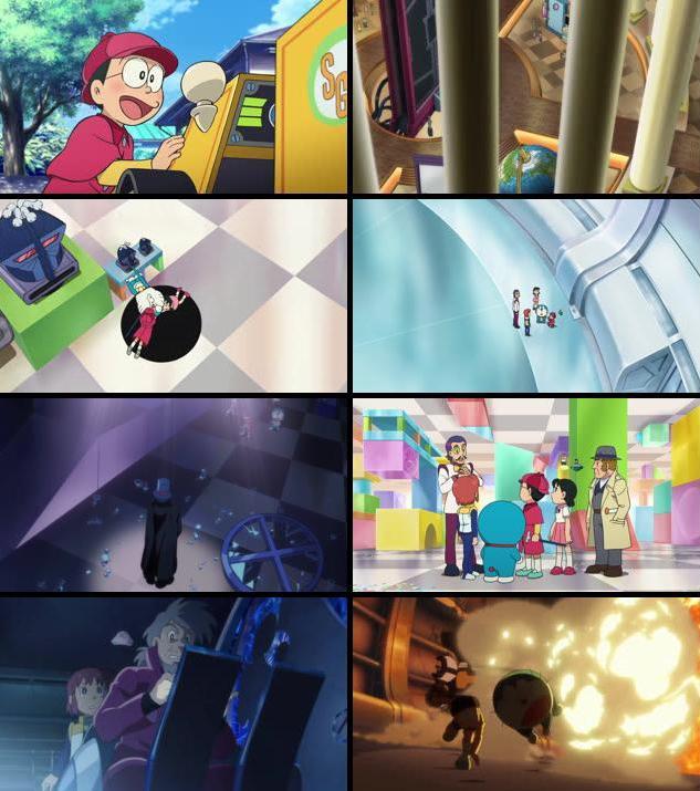 Doraemon Nobita's Secret Gadget Museum 2013 Dual Audio Hindi 720p BluRay