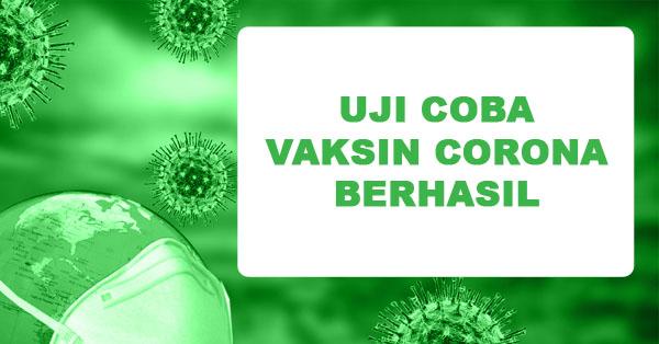 Vaksin Corona Ditemukan