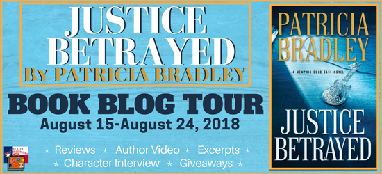 Justice Betrayed book blog tour promotion banner