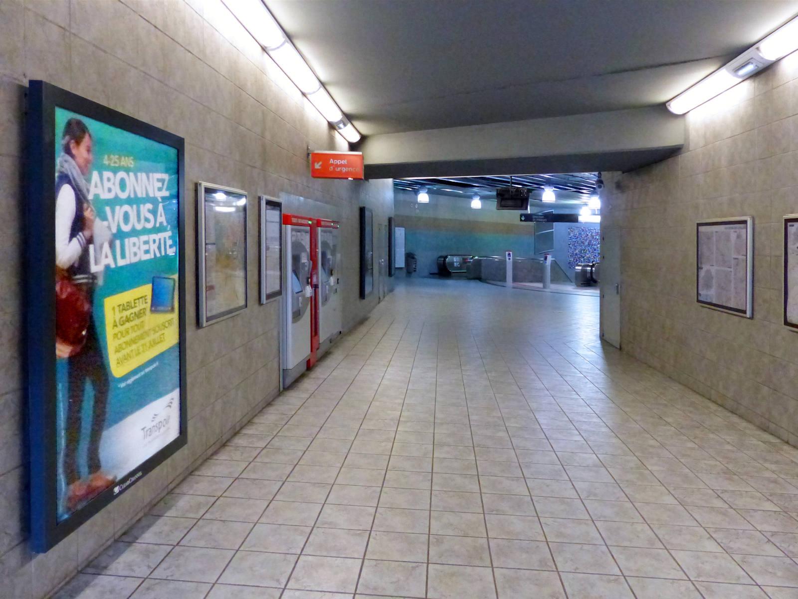 Couloir Métro Colbert Tourcoing