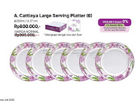 Cattleya Large Serving Platter Tupperware Promo Juli 2020