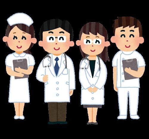 医師と看護師のイラスト