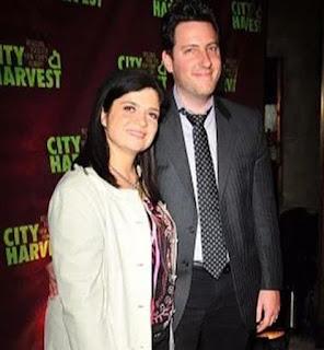 Alex Guarnaschelli with her ex-husband Brandon Clark