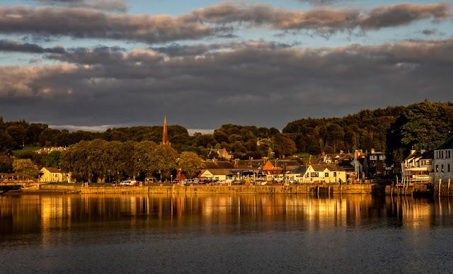 Photo of Kirkcudbright in the evening sunshine