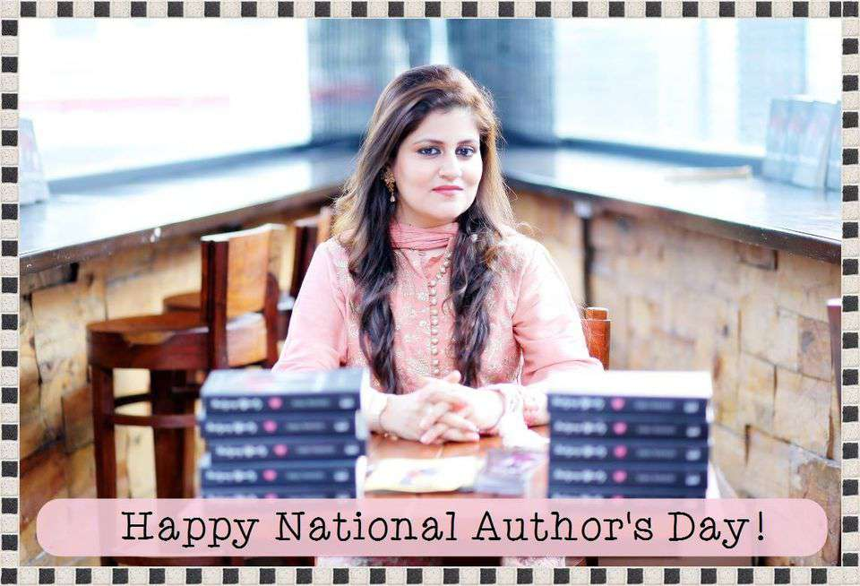 National Author's Day Wishes Images