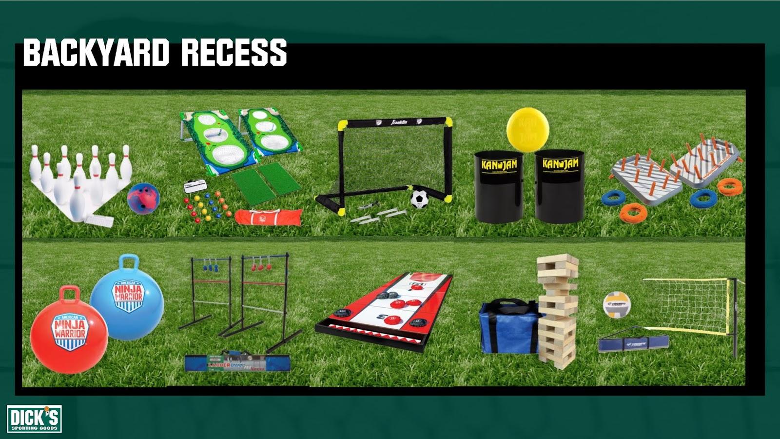 Backyard Recess at DICK'S Sporting Goods