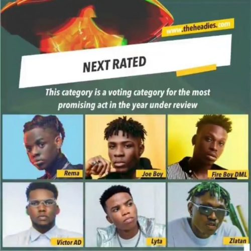 Zlatan Not Happy With Inclusion In The Headies Next Rated Category, Says He's Bigger Than Other Artistes On The List