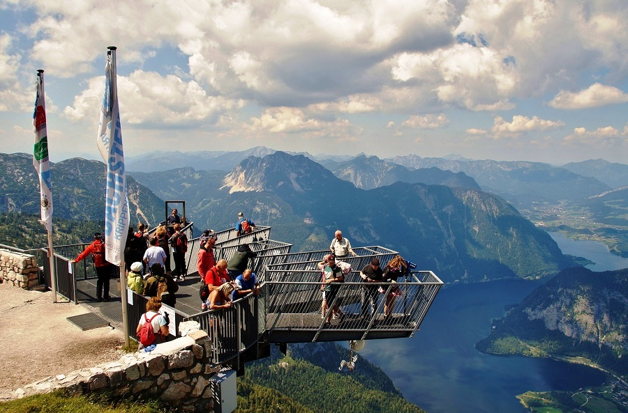 5 Fingers, Austria - A Gorgeous Viewing Platform For Observing The Beautiful Natural Scene
