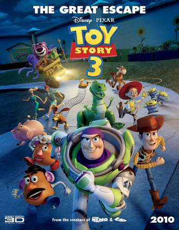 Toy Story 3 2010 Hindi Dual Audio 450MB BluRay 720p HEVC