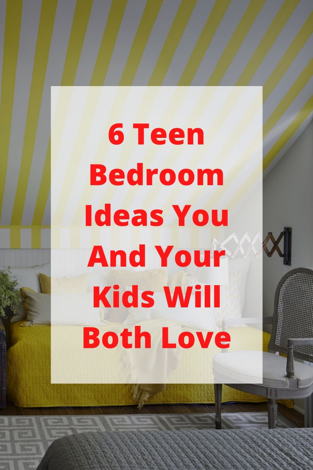 6 Teen Bedroom Ideas You And Your Kids Will Both Love