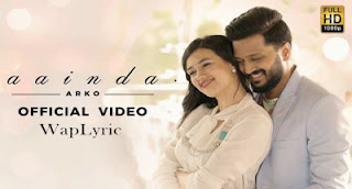 Aainda Song Lyrics  Riteish Deshmukh