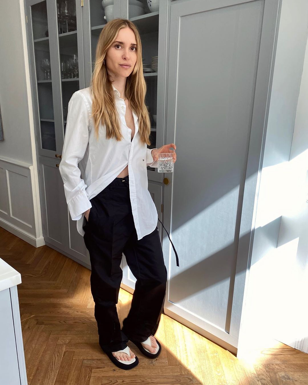 Pernille's Effortless Summer Look Can Easily Be Recreated