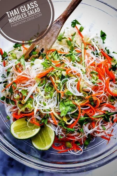 Glass Noodle Salad (Yum Woo Sen)