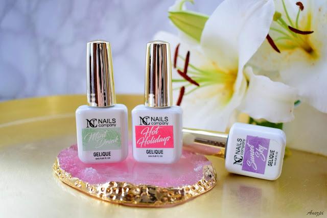 Pastelowe lakiery hybrydowe NC Nails Company