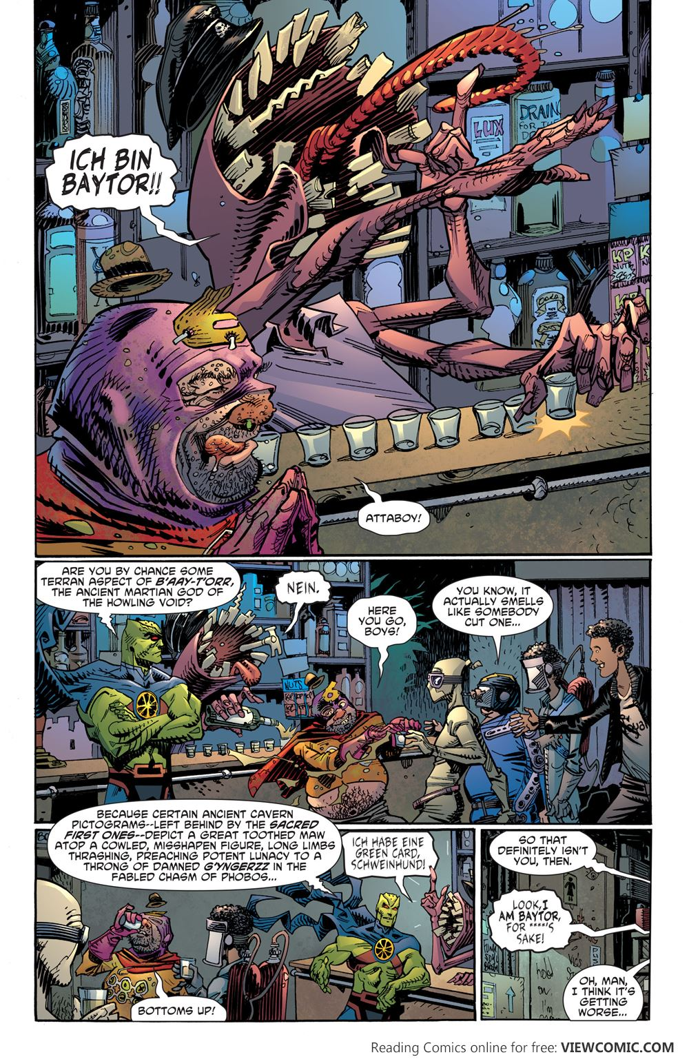DC - All-Star Section 8: The Traumatization of J'onn J ...
