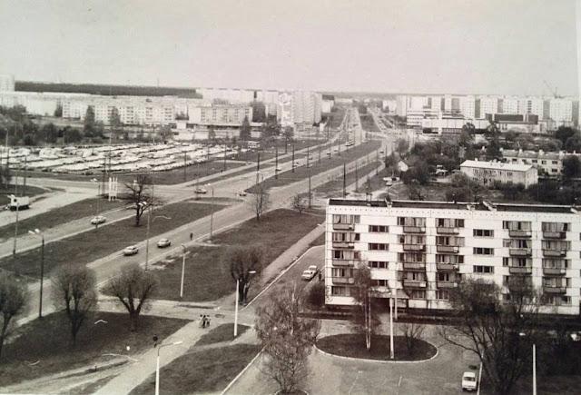 1984 год. Рига. Пурвциемс. Улица Дзелзавас