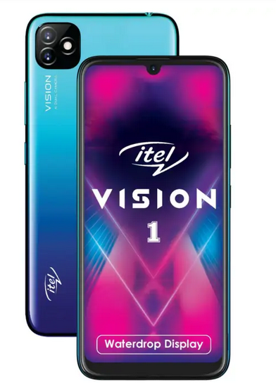 Itel Vision 1 with Water-drop Notch, Dual Cameras, 4000mAh Battery Launched