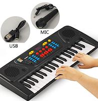 Logo Amazon : pianoforte pedagogico elettrico per bambini sconto 70% da € 53,30 a soli € 15,98! Affrettati