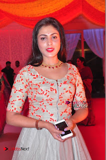 Actress Madhu Shalini Exclusive Stills in Party Dress at Vijay Karan Aashna Wedding  0012.JPG